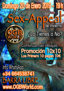 319-2019-01-20-OGB-Sex-Appeal-Domingo-20-de-Enero-a-las-19-h