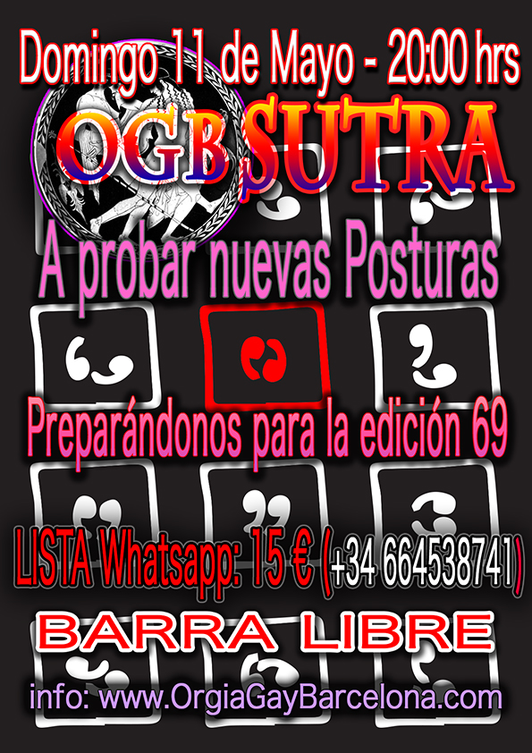 OGB Sutra – Domingo 11 de Mayo 2014 – 20:00 hrs